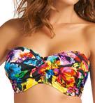 Santa Rosa Underwire Twist Bandeau Bikini Swim Top Image