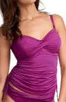 Guadeloupe Underwire Twist Tankini Swim Top