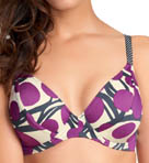 Key West Underwire Plunge Bikini Swim Top
