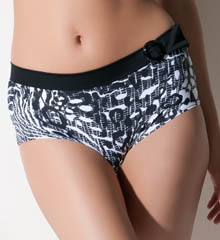 Rome Belted Short Swim Bottom