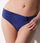 LA Gathered Fold Brief Swim Bottom