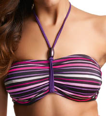 Costa Rica Underwire Bandeau Bikini Swim Top