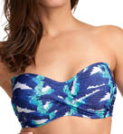 Cancun Underwire Twist Bandeau Bikini Swim Top