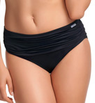Versailles Deep Gathered Control Brief Swim Bottom