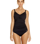 Versailles Underwire Twist Front Control Swimsuit Image