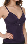 St. Kitts Underwire Plunge Tankini Swim Top