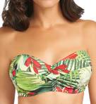 Malola Underwire Twist Bandeau Bikini Swim Top Image