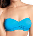 Cairns Underwire Twist Bandeau Swim Top Image
