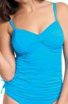 Cairns Underwire Twist Front Tankini Swim Top Image