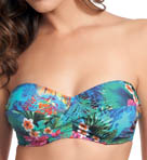 Dominica Underwire Twist Bandeau Bikini Swim Top