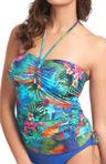 Dominica Underwire Bandeau Tankini Swim Top Image