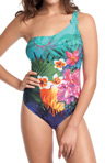 Dominica Underwire Asymmetric Swimsuit Image
