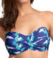 Cancun Underwire Twist Bandeau Bikini Swim Top Image