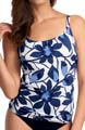 Santorini Underwire Scoop Neck Tankini Swim Top Image