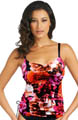 Ecuador Underwire Adjustable Tankini Swim Top Image