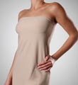 19 Inch Strapless Slip with Shelf Bra Image