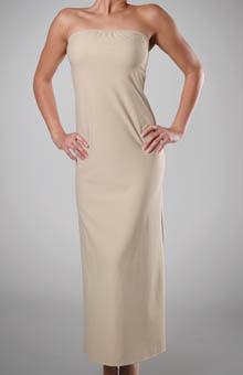 Full Length Strapless Slip 38 Inch