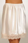 Satin Applique 18 Inch Half Slip
