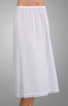 Farr West 27 Inch Cotton Batiste Half Slip