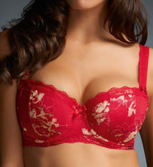 Fauve Evangeline Underwire Padded Demi Cup Bra FV0262