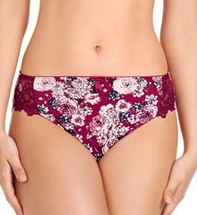 Fayreform Coral Rose High Cut Brief Panty