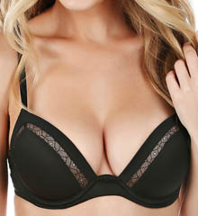 Celeste Micro Fabric with Lace Detail Bra
