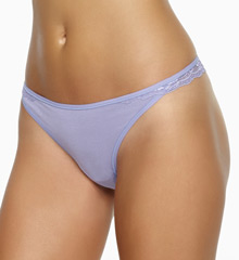 Charming Stretch Lace & Modal Thong