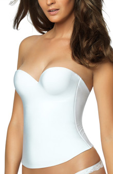 Essentials Seamless Hidden Wire Bustier Bra