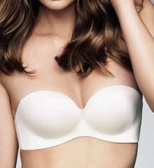 Memory Strapless Bra
