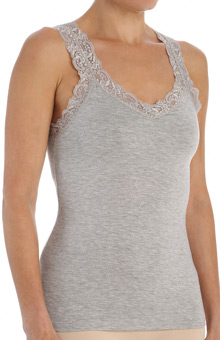 Fleur't Lace Camisole with Shelf Bra 383LU