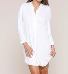 Fleur't Fleur't At Night Collar Cuffed Sleeve Nightshirt 5412FNT