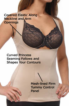 Flexees Dream Wear Your Own Bra Torsette 1866