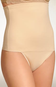 Fat Free Dressing Hi Waist Thong