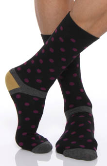 Polka Dot Sock Single Pair