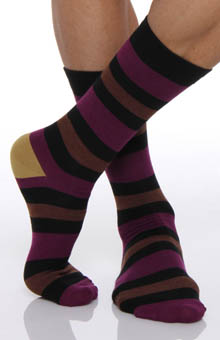 Stripe B Sock Single Pair