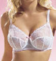 Seamed cup bra