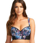 Pansy Underwire Padded Longline Bra Image