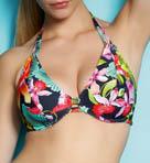 Calypso Underwire Bandless Halter Bikini Swim Top
