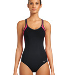 Active One Piece Soft Cup Swim Suit Image