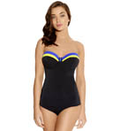 Revival Underwire Bandeau Padded Tankini Swim Top Image