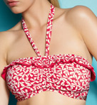 Charleston Underwire Bandeau Bikini Swim Top