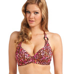 Freya Wild Side Underwire Banded Halter Bikini Swim Top AS3320