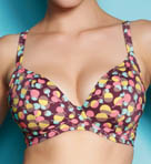 Freya Polka Underwire Plunge Bikini Swim Top AS3355
