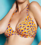 Boogie Underwire Bandless Triangle Bikini Swim Top