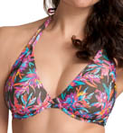 Freya Firefly Underwire Bandless Halter Bikini Swim Top AS3544