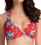 South Pacific Underwire Banded Halter Bikini Top
