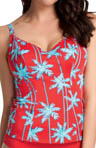 Freya South Pacific Underwire Plunge Tankini Swim Top AS3555