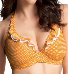 Sunset Boulevard Underwire Halter Bikini Swim Top