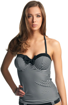 Freya Tootsie Underwire Bandeau Tankini Swim Top AS3605
