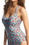 Freya Swimwear Valentine Underwire 50's Halter Tankini Swim Top AS3628